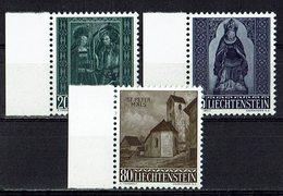 Liechtenstein 1958 // Mi. 374/376 ** (030..870) - Liechtenstein