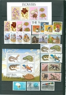 Zambia LOT Of 28 Incl 7 SETS Flora Flowers Reptiles View Olympics More WYSIWYG A04s - Zambia (1965-...)
