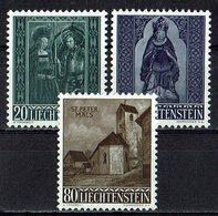 Liechtenstein 1958 // Mi. 374/376 ** (030..872) - Liechtenstein