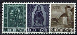 Liechtenstein 1958 // Mi. 374/376 ** (030..873) - Liechtenstein