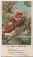 Santino Di San Gregorio Barbarigo E San Carlo Borromeo. Anno 1954 - Images Religieuses
