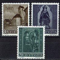 Liechtenstein 1958 // Mi. 374/376 ** (030..874) - Liechtenstein