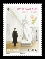 France 2018 Mih. 7172 World War II. Art Historian And Member Of The French Resistance Rose Valland MNH ** - Francia