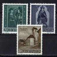 Liechtenstein 1958 // Mi. 374/376 ** (030..875) - Liechtenstein