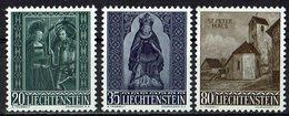 Liechtenstein 1958 // Mi. 374/376 ** (030..877) - Liechtenstein