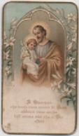 Santino Di San Giuseppe Per Il 35° Della Prima Messa Di Don Antonio Schiavon. Albignasego (Padova) 1928 - Santini