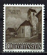 Liechtenstein 1958 // Mi. 376 ** (030..880) - Liechtenstein