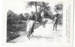 AIN --01 - Le Pays Des Gaudes -Leçon De Bicyclette - Non Classificati