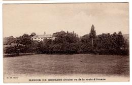 Manoir De Gonsans (Doubs) Vu De La Route D' Ornans, Alte Ansichtskarte - Baume Les Dames