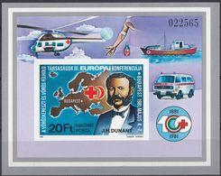 UNGHERIA - 1981 - Foglietto NON Dentellato Nuovo MNH Yvert 153. - Blocchi & Foglietti