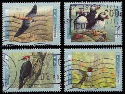 Canada (Scott No.1591-94 - Oiseaux Canadiens / Canadian Birds) (o) Série/ Set - 1952-.... Règne D'Elizabeth II