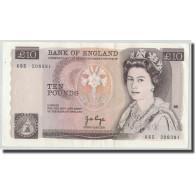 Billet, Grande-Bretagne, 10 Pounds, Undated (1975-92), KM:379a, SUP - 1952-… : Elizabeth II