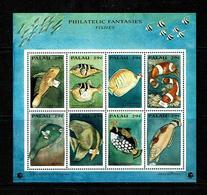 Palau 1994 Sc # Bf 334  MNH **  Fish - Poissons - Palau