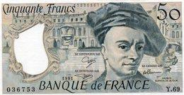 FRANCIA 50 FRANCS 1991  P-152e2  UNC - 1962-1997 ''Francs''