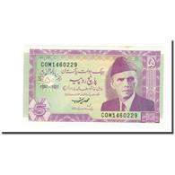 Billet, Pakistan, 5 Rupees, 1997, KM:44, NEUF - Pakistan