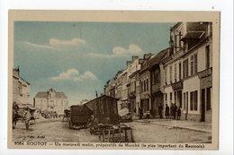 ROUTOT - 27 - Eure - Préparatifs Du Marché (Raumois) - Routot