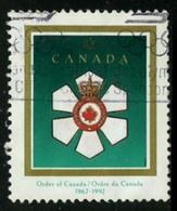 Canada (Scott No.1446 -Order Of Canada) (o) - 1952-.... Règne D'Elizabeth II
