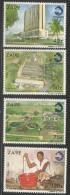 1989 Zaire REGIDESCO Water Company   Health Complete Set Of 4 MNH - Zaire
