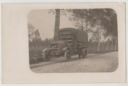 CPA PHOTO Camion BERLIET (SANNOIS Lieu à Confirmer) - Sannois