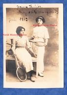 CPA Photo - BAR LE DUC Ou Environs - Portrait Studio De Jeanne FRAIZIER & Marguerite MARGUERIE - 1912 - Tennis Raquette - Fashion