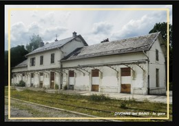 01  DIVONNE  Les  BAINS  ... La  Gare Désaffectée - Divonne Les Bains