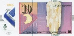 MACEDONIA 10 ДЕНАРИ (DENARI) 2018 P-new UNC  [MK217a] - Macédoine