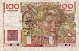 FRANCIA 100 FRANCS 1949  P-128 - 1871-1952 Antichi Franchi Circolanti Nel XX Secolo