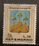 SAINT MARIN    N°   713   OBLITERE - Saint-Marin