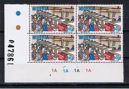 Nigeria Y/T 496 (**) In Blok Van 4 - Nigeria (1961-...)