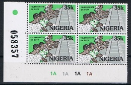 Nigeria Y/T 493 (**) In Blok Van 4 - Nigeria (1961-...)