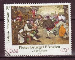 FRANCE - 2001 - YT N° 3369 - Oblitéré - Série Artistique - Used Stamps