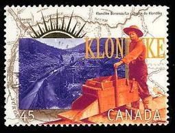 Canada (Scott No.1606e - Ruée Vers L'or / Yukon / Gold Rush) [o] - 1952-.... Règne D'Elizabeth II