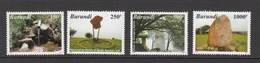 2007 Burundi Tourism Explorers Geography Complete Set Of 4 MNH - Burundi
