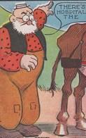 """Post Cards  : Comic Strip """"Her Name Was Maud""""   Série De 4 Cartes Puzzle De F  Burr Hopper  1907 - Comics"""