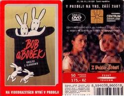 TARJETA TELEFONICA DE LA REP. CHECA. CINE, Fairy Story - Bob A Bobek. 06.2001 - C386 (105) - Cinéma