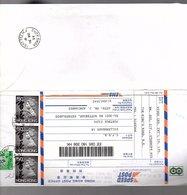 (opened) High Franking Cover $155,00! Speedpost EMS TSAT TSZ MUI! (North Of HK Island)  To Netherlands  (82) - Hong Kong (...-1997)