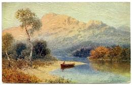 ARTIST : WIMBUSH - LOCH KATRINE, SILVER STRAND (TUCK'S OILETTE) - Wimbush