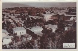 IRAN. CIRCA 1940s COLORISE. CITY AERIAL VIEW TEHERAN. NON CIRCULEE. RARISIME- BLEUP - Iran