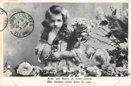Avec Ces Fleurs Je Vous Envoie Des Baisers éclos Dans La Joie - Fêtes - Voeux