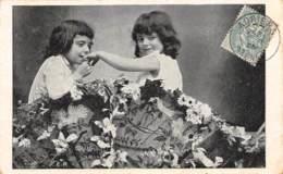 Fillettes, Fleurs, ... - Scènes & Paysages