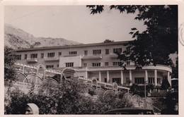 IRAN. TEHERAN, PARTIAL PANORAMA. CIRCULEE 1956 TO LONDON. 2 COLOR STAMPS- BLEUP - Iran