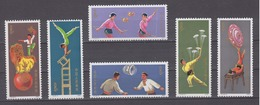PR CHINA 1974 - Acrobatics MNH** VF - 1949 - ... People's Republic