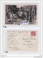 8363 AK/PC/CARTE PHOTO/2275/ETABLISSEMENT BOULOU/LES HOTELS ET LA COUR/POMPE A ESSENCE ESSO/1940/TTB - Cartoline