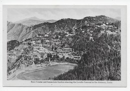 Race Course And Annandale Garden Showing The Loretto Convent In The Distance, Simla - India
