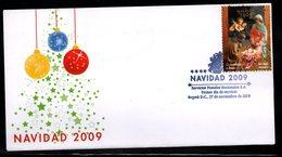COLOMBIA- KOLUMBIEN- 2009 FDC/SPD. CHRISTMAS  /  NAVIDAD - Colombie