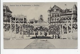 Bombay - General View Of Amphitheatre - India