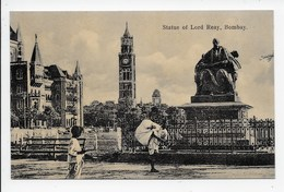Bombay - Statue Of Lord Reay - India