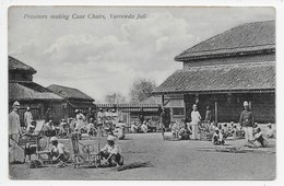 Prisoners Making Cane Chairs, Yarrowda Jail - India