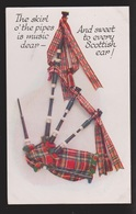 General Greetings - From Scotland Bagpipes & Verse - Unused - Greetings From...