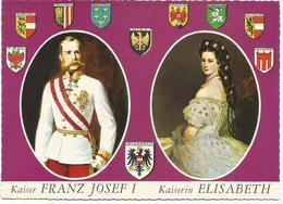 V2893 Kaiser Franz Josef I Von Osterreich - Kaiserin Elisabeth / Non Viaggiata - Case Reali